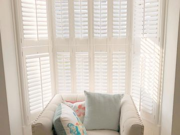 Tier on Tier shutters installed in Bury St Edmunds